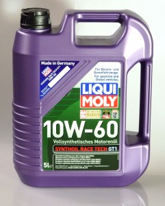 Liqui Moly Synthoil Race Tech GT1 10W-60 5L