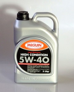 Meguin High Condition 5W-40 5L