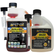Zestaw Diesel na Zimę : Archoil AR 6900 D-Max 500 ml + AR 6350 Cold Weather Protect 250 ml